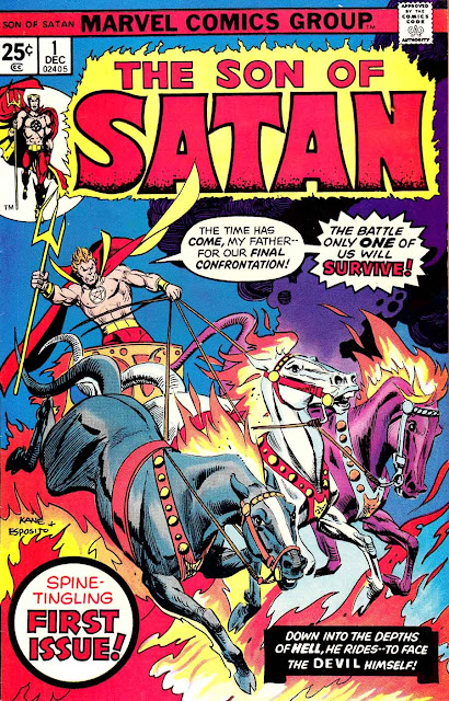 Son of Satan v1 #1, 1973 marvel bronze age comic book cover
