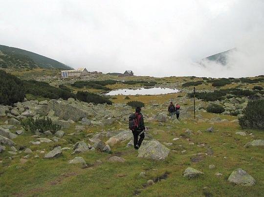 Przed nami najmniejsze z Musaleńskich Jezior położone na wysokości 2391 m n.p.m.