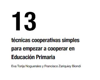 TÉCNICAS COOPERATIVAS SIMPLES PARA PRIMARIA