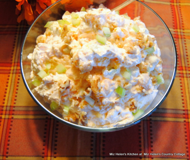 Crunchy Orange Fluff Salad at Miz Helen's Coutry Cottage