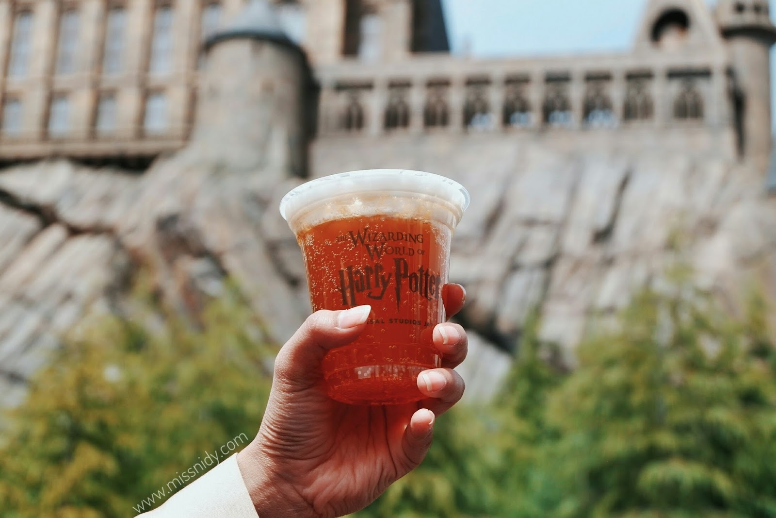 butterbeer in wizarding world of harry potter japan