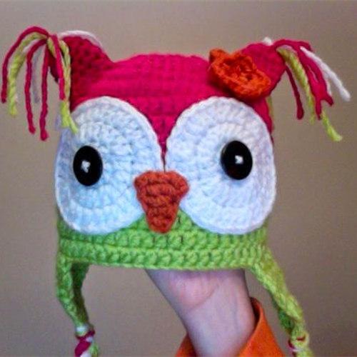 Hoot Hoot Owl Hat Free Pattern Crochet Flow