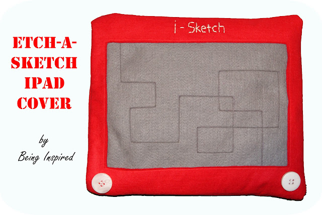 Etch-a-Sketch iPad cover tutorial