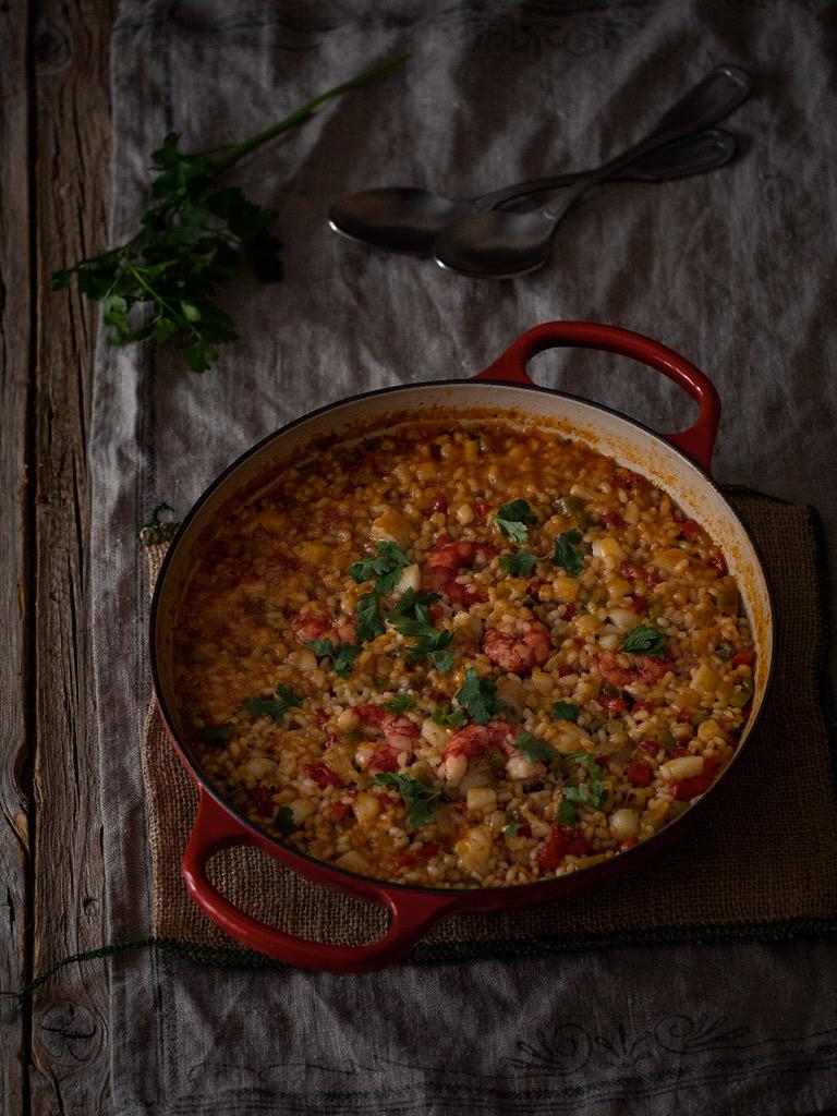 arroz-meloso-con-sepia-rape-y-carabineros