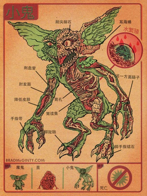 02-Gremlins-Brad-McGinty-Anatomy-of-Monsters-www-designstack-co