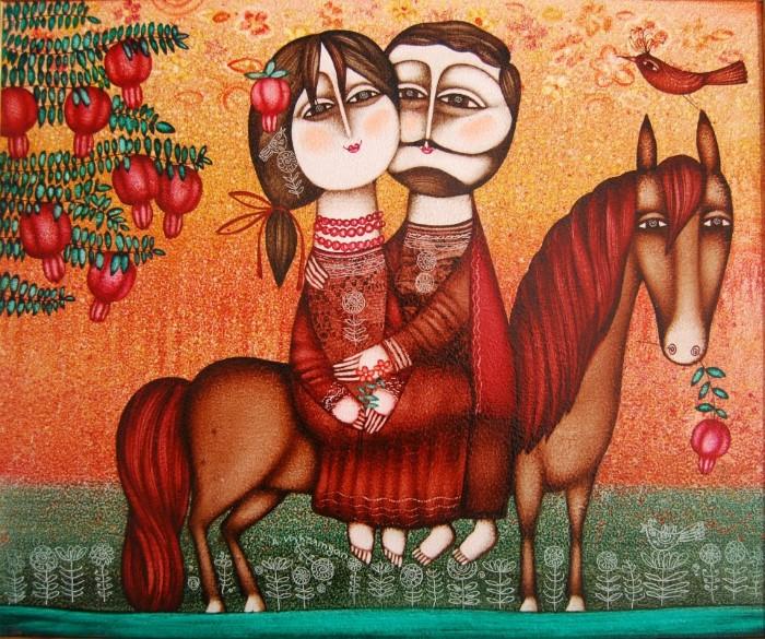 Армянский художник. Armen Vahramyan