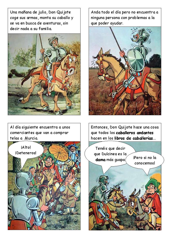 Patio en Saigón: Don Quijote de la Mancha