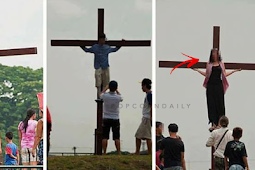 These people gets BASHED by netizens after POSING like this on a Cross!