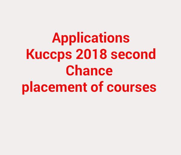 Kuccps application