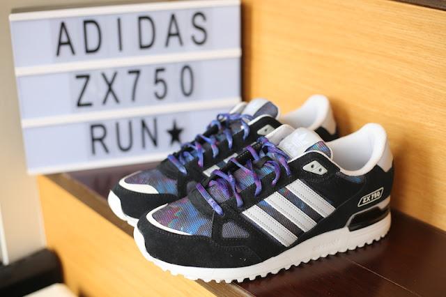adidas Originals ZX750 愛迪達復古慢跑鞋