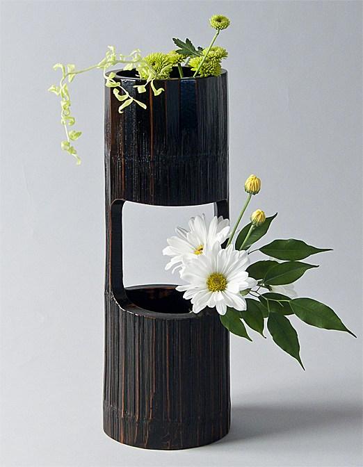 Cara Membuat Vas Bunga Dari Bambu Zislamiyah09
