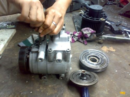 Perbaikan dan Perawatan Sistem AC Mobil