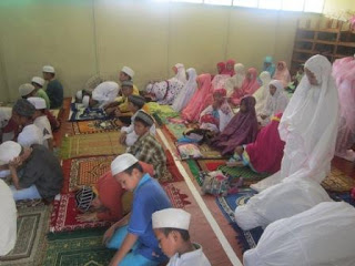 Pelajaran sholat untuk sekolah dasar madrasah ibtidaiyah