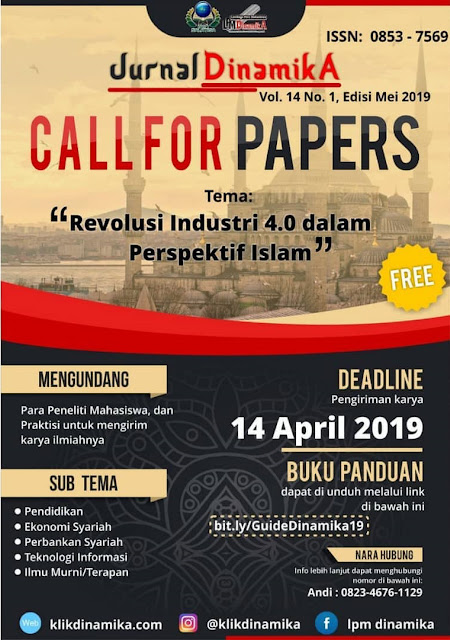 Lomba Call for Paper Nasional Jurnal Dinamika 2019 Mahasiswa