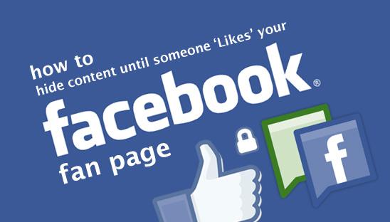 Cara Membuat Halaman Fans Page Di Facebook Banyak Yang Like