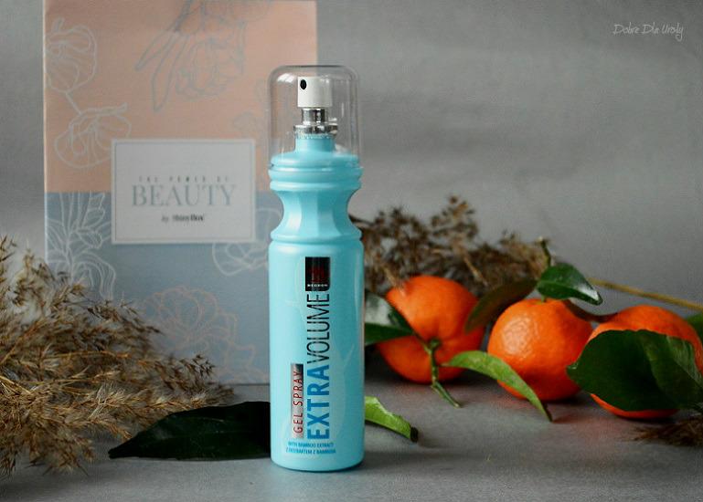ShinyBox The Power of Beauty - Hegron Gel Spray Extra Volume z ekstraktem z bambusa