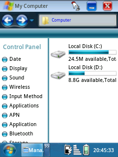 Cara Instal Theme Windows7 di Android