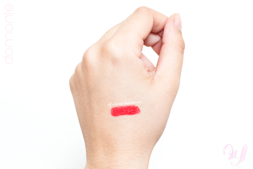 Swatch Labial The Reds Scarlet Fever