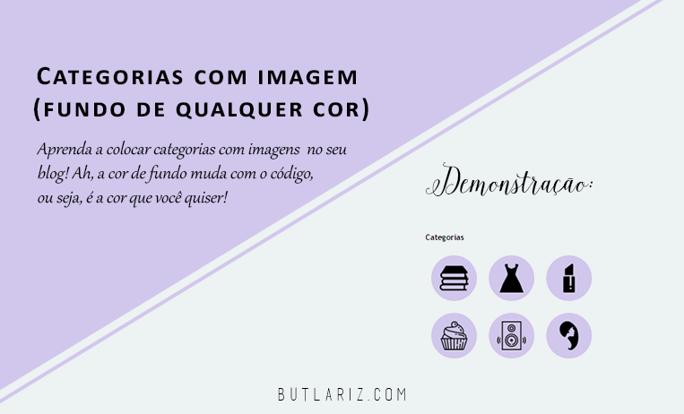Tutorial: Categorias com imagem