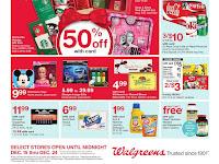Walgreens Weekly Ad December 10 - 16, 2017