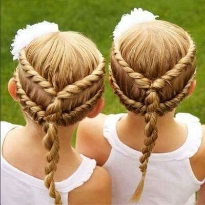 Cute%2BEasy%2BHairstyles%2BFor%2BLittle%2BGirls%2B%252818%2529 30 Cute Easy Hairstyles For Little Girls Interior