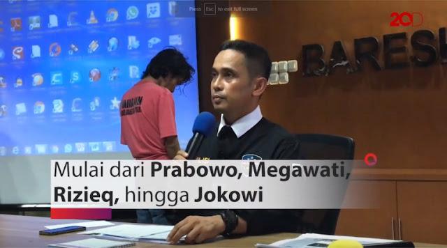 Akhirnya! Penyebar Hoaks dan Penghina Prabowo dan Habib Rizieq Dibekuk