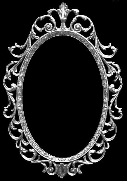 Espejo vintage clipart png - Marcos espejos antiguos ...