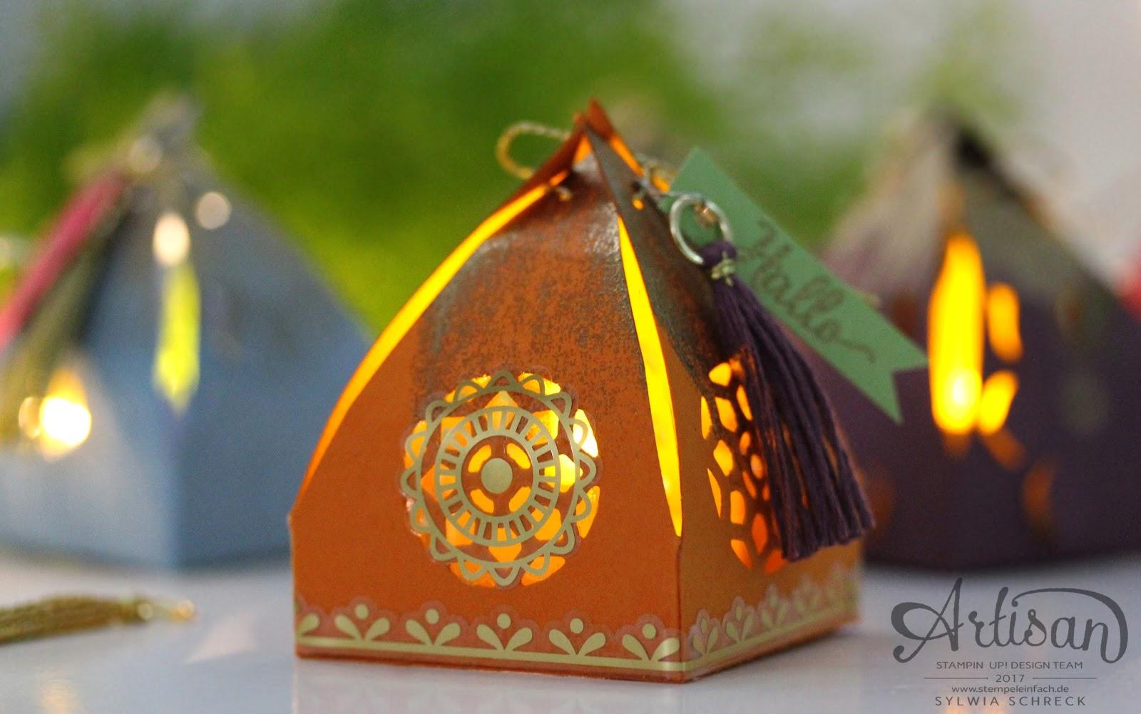 Orientalische Verpackungen Laterne