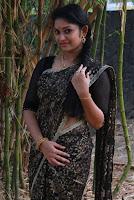 Tamil Actress Sri Priyanka Pos in Saree at Pichuva Kaththi Tamil Movie Audio Launch  0003.jpg