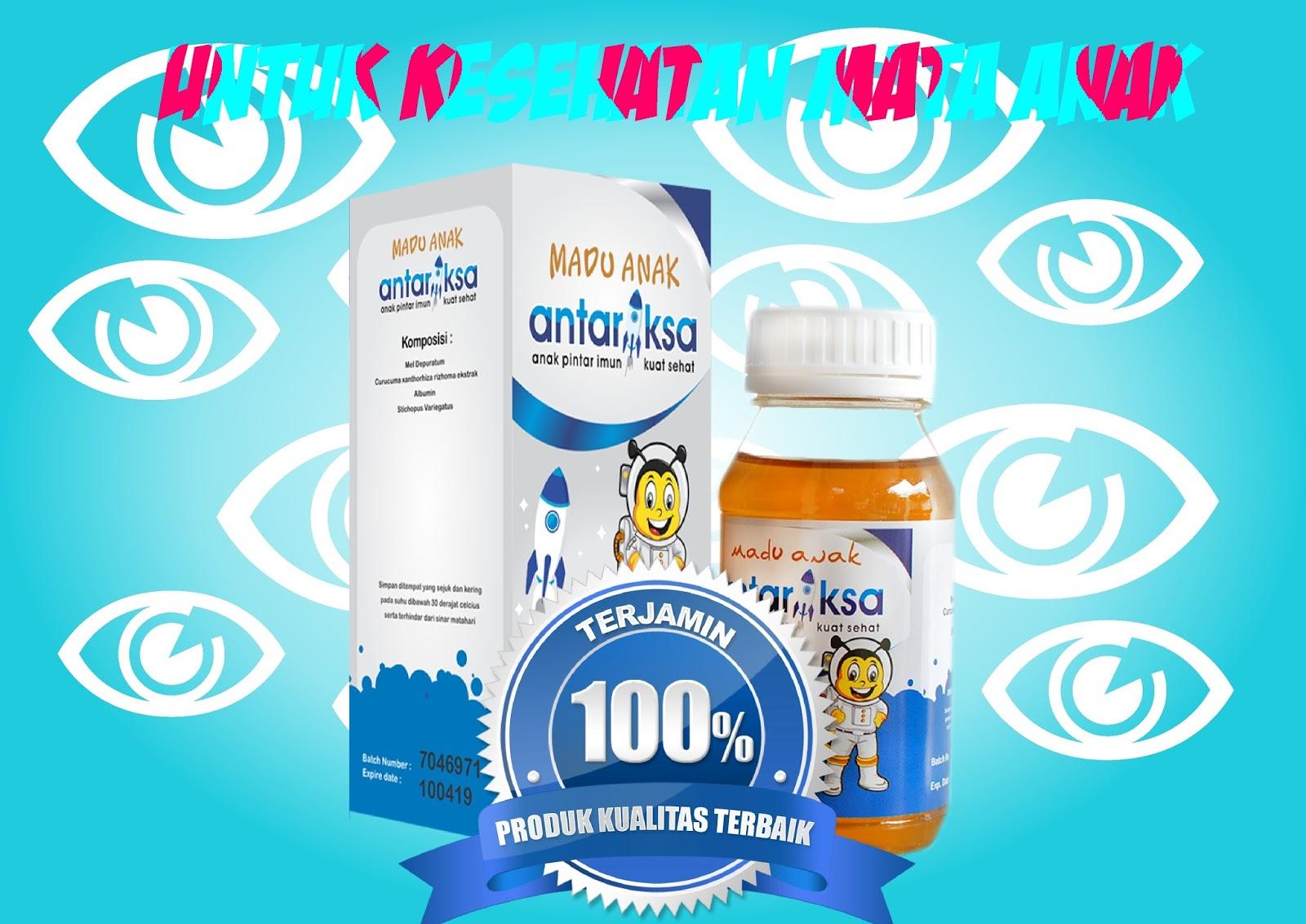 Vitamin Anak Untuk Kesehatan Mata