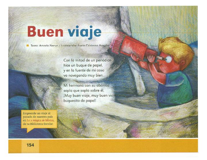 Buen viaje - Español Lecturas 2do grado ~ Apoyo Primaria