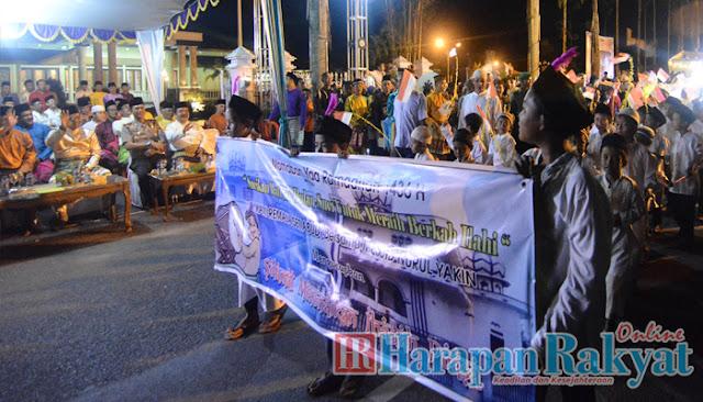 Icon Wisata Religi Tanjabbar, Festival Arakan Sahur Ramadhan 1436 H Dibuka