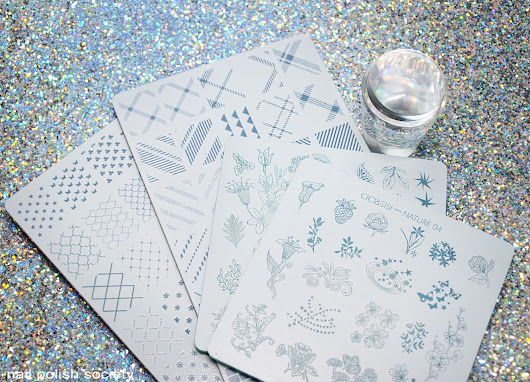 Cici & Sisi Stamping Plates and Clear Stamper Review