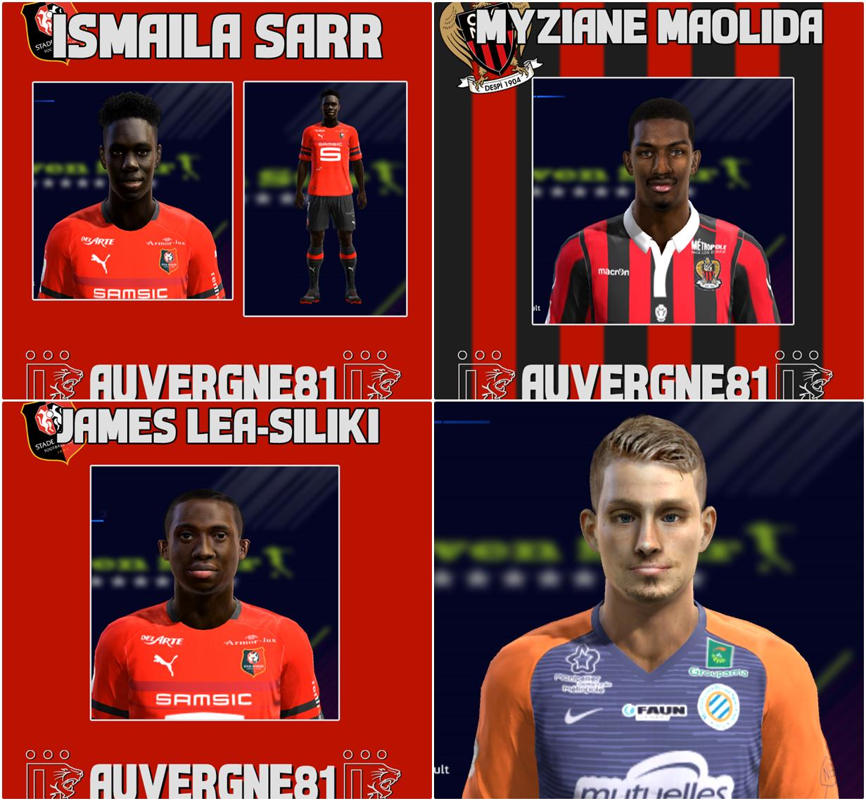 Ultigamerz Pes 2010 Pes 2011 Face: Ultigamerz: PES 2013 Ligue 1 Mini Face-Pack 2019