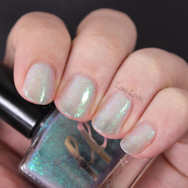 Femme Fatale Trees Talking In Their Sleep Nail Polish Swatches & Review