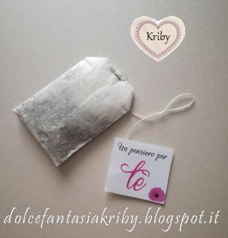 filtri tisana personalizzati regalo