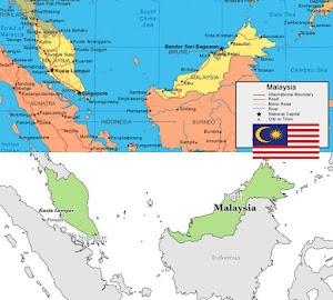 Profil dan Peta Negara Malaysia