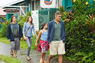 the descendants-nick krause-shailene woodley-amara miller-george clooney