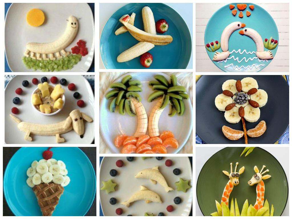 Что можно сделать из банана и яблока