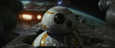 BB8 in Star Wars: The Last Jedi