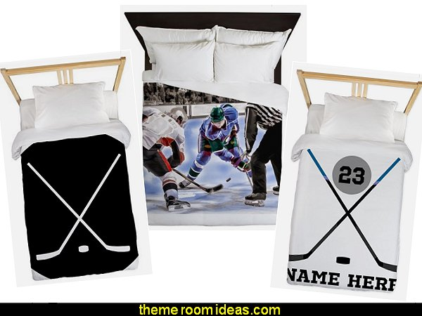 hockey bedding hockey duvets hockey bedding