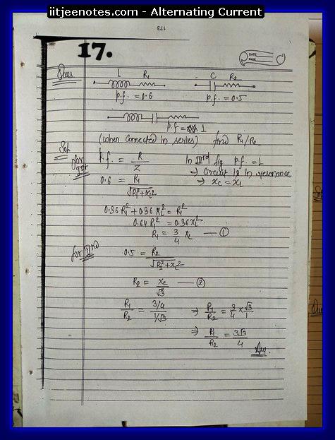 alternating current notes7