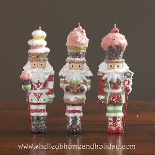 candy nutcracker Christmas ornaments