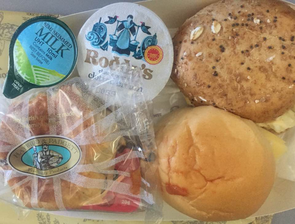 A Thomas Cook Long Haul Flight from Manchester | In-flight Meals, Entertainment & What to Expect - A Review - James Martin afternoon tea