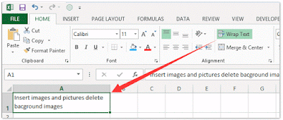 Wrapping Text in excel, excel wrap Text