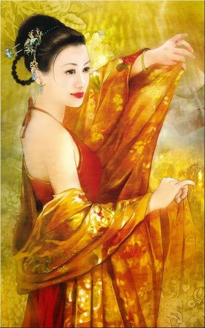 Pintura de Der Jen ~ Chinesa