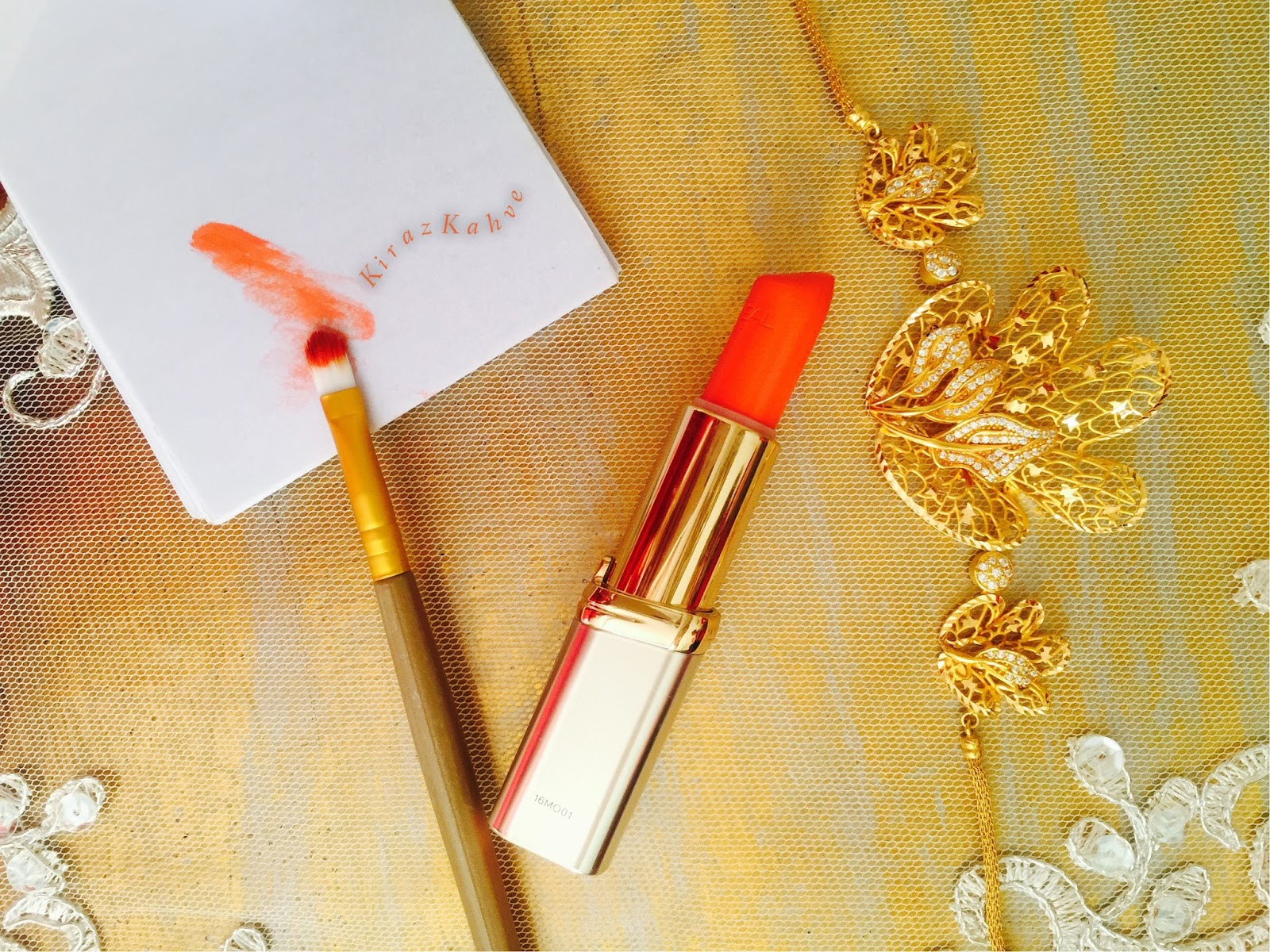 L'oreal Paris Color Riche Ruj 238 - Orange After Party İnceleme