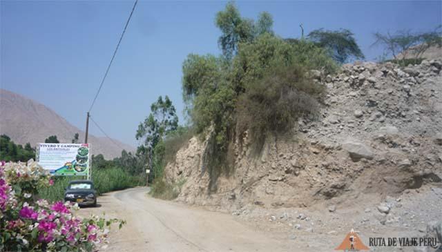Punto de Partida -Camino Inca Chontay California