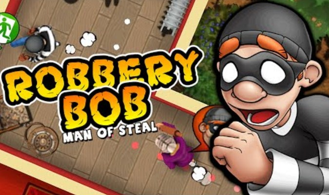 Game Bergenre Stealth - Robbery Bob