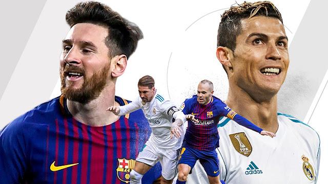 مشاهدة مباراة الكلاسيكو برشلونة وريال مدريد بث مباشر بي أن سبورت HD1
